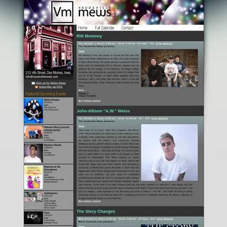 Vaudeville Mews - Downtown Des Moines, IA - Live music venue and Bar