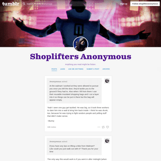 Shoplifters Anonymous