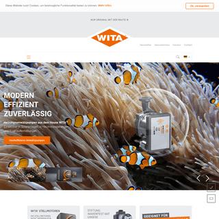 WITA® – Pumpentechnik. Umwälzpumpen für Heizungs-, Trinkwasser- und Solaranlagen.