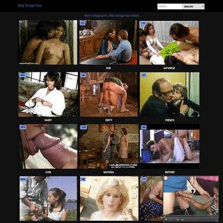 Best vintage porn & amateur vintage keezmovies tube at betavintageporn.com