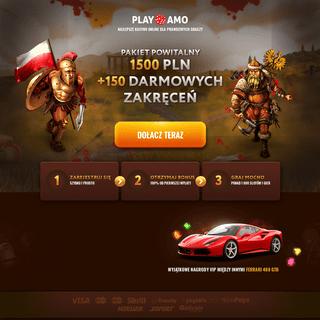 Playamo - Najlepsze kasyno online dla prawdziwych graczy