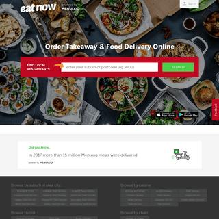 ArchiveBay.com - eatnow.com.au - Order Take-Away and Home Food Delivery Online - eatnow.com.au