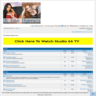 ArchiveBay.com - babeshows.co.uk - The UK Babe Channels Forum