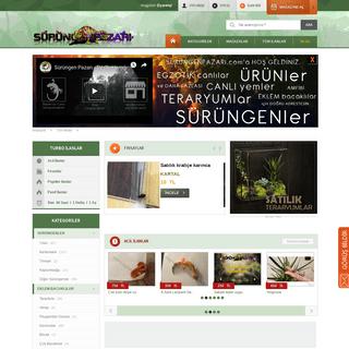 ArchiveBay.com - surungenpazari.com - Sürüngen Pazarı - Sürüngen