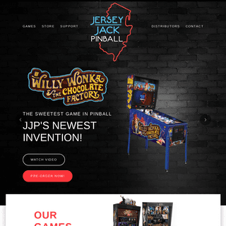 ArchiveBay.com - jerseyjackpinball.com - The Best Pinball Machines - Top Ranked, Premium Games - Jersey Jack Pinball