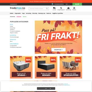 ArchiveBay.com - trademax.no - Trademax – Møbelbutikk på nett – Alt for hjemmet til lave priser