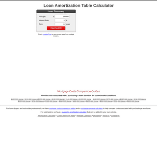 ArchiveBay.com - amortizationtable.org - Loan Amortization Table Calculator