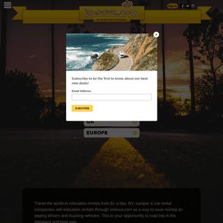 imoova.com - Vehicle Relocations