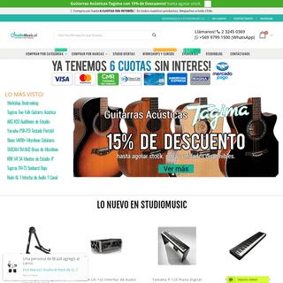 StudioMusic.cl - HomeStudio & Audio Profesional