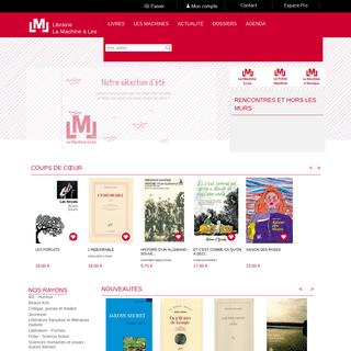Librairie La Machine à Lire