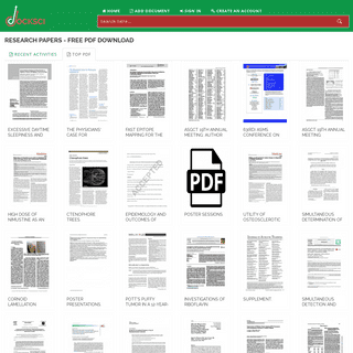Research Papers - Free PDF Download - DOCKSCI.COM