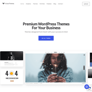 VictorThemes- Premium & Custom WordPress Theme Design Company