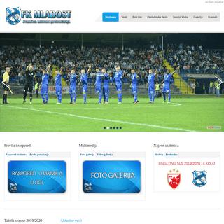 A complete backup of fkmladostlucani.com