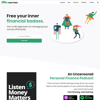 ArchiveBay.com - listenmoneymatters.com - Listen Money Matters - A free financial education at your fingertips.