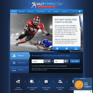 MUTCoins.com- Buy MUT Coins the Fast & Secure Way
