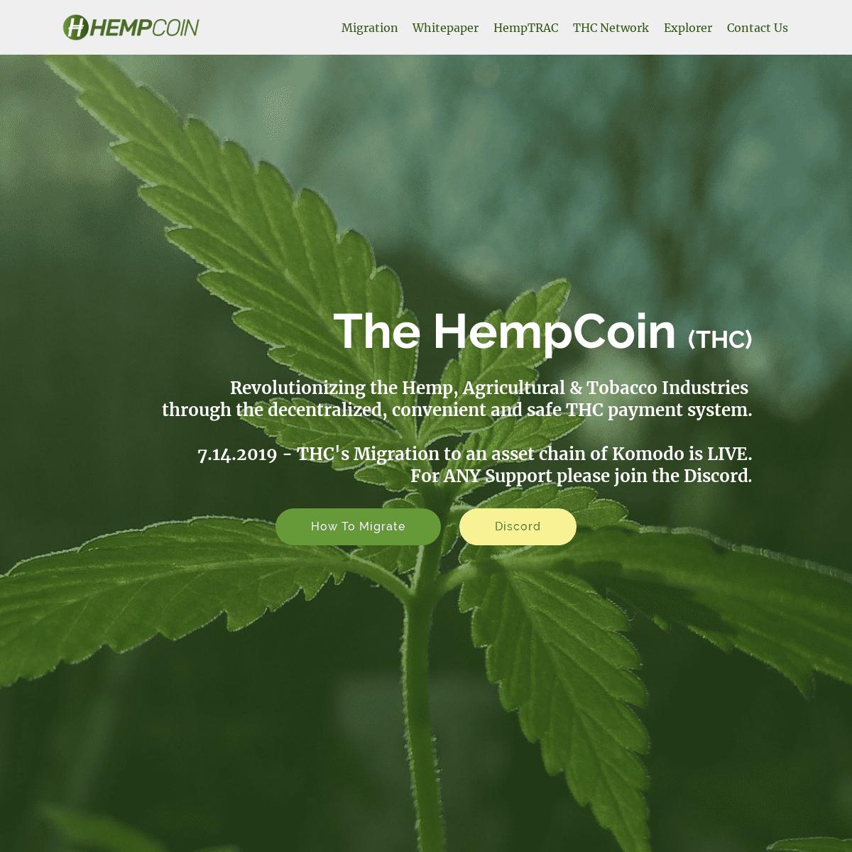 ArchiveBay.com - hempcoin.org - The HempCoin (THC)