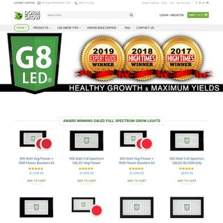 Award Winning G8 LED Grow Lights - USA G8LED - Dorm Grow