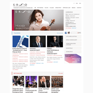 ERSO - Eesti Riiklik Sümfooniaorkester