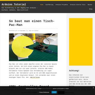 ArchiveBay.com - arduino-tutorial.de - Arduino Tutorial - Die Einführung in den Umgang mit Arduino – Einfach, Schnell, Übersichtlich