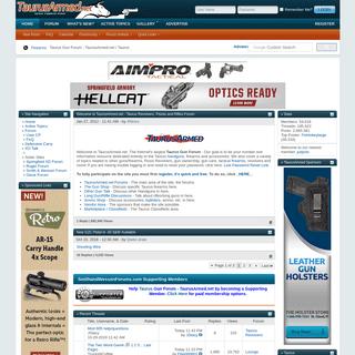 Taurus Gun Forum - TaurusArmed.net - Taurus Firearms