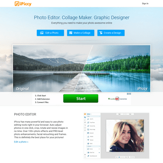 Photo Editor - iPiccy- Free Online Photo Editing for You