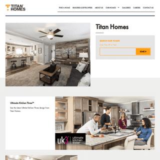 Titan Homes - Titan Homes
