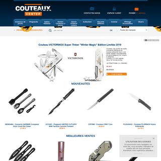 COUTEAUX CENTER vente en ligne de couteaux, épées, katanas, dagues, poignards, etc...