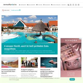 Fürdők, wellness hotelek, fürdővárosok - termalfurdo.hu
