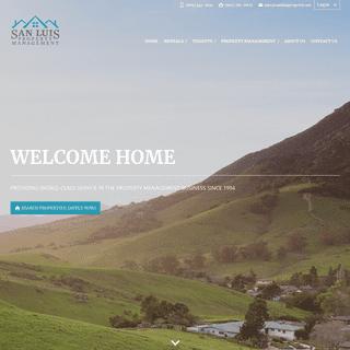 Home - San Luis Property Management