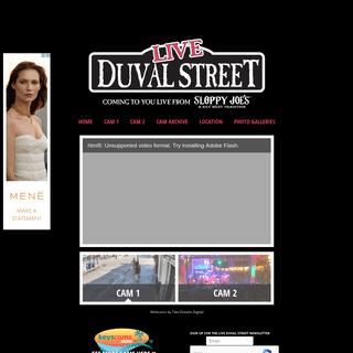 Key West Webcam - Live Duval Street