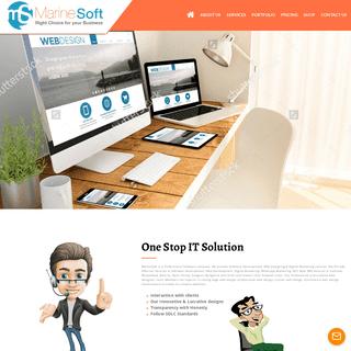MarineSoft - Best Software Development, Website Designing, Mobile Application Development in Moradabad, India