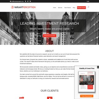ArchiveBay.com - variantperception.com - Leading Investment Research - Variant Perception