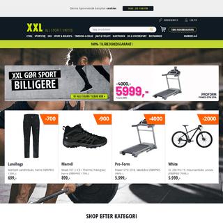 XXL Sportsudstyr - Nordens største sportsbutik - XXL