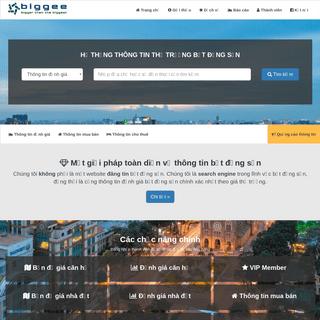 Trang chủ - Hệ thống thông tin bất động sản Biggee.vn