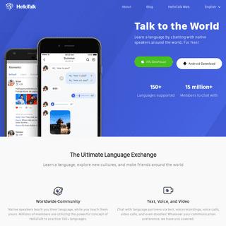 HelloTalk - Talk to the World