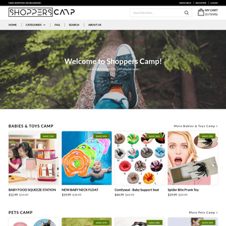 Shopper Camp - A one stop camp for all Shoppers – Shoppers Camp