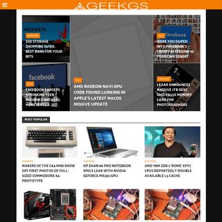 GeekGS - News, Reviews & Tips in Technology