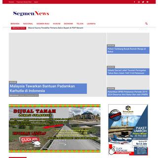 Segmennews.com - Kritik, Tajam, Terpercaya