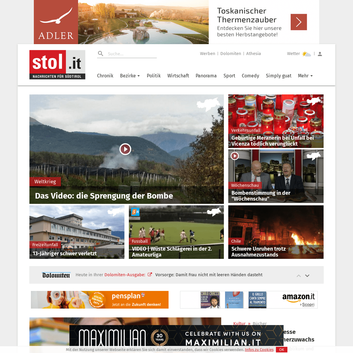 stol.it - Nachrichten aus Südtirol, Italien und der Welt