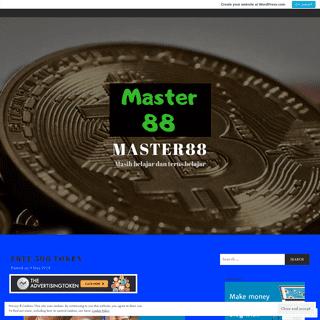 Master88 – Masih belajar dan terus belajar