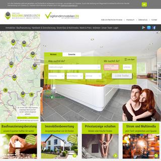 Finde Immobilien - Häuser, Wohnungen und Grundstücke im Vogtland