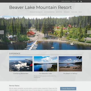 Beaver Lake Mountain Resort