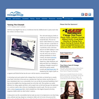 Vintage Snowmobiles, Vintage Sleds and even Vintage Snow Machines