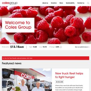 ArchiveBay.com - colesgroup.com.au--2019-08-15__05-33-31 - Coles Group - A trusted retailer, delivering quality value and service