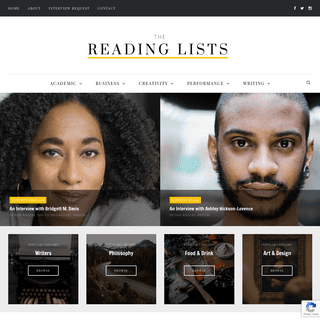 ArchiveBay.com - thereadinglists.com - The Reading Lists -