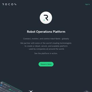 ArchiveBay.com - rocos.io - Rocos - Robot Operations Platform 🤖