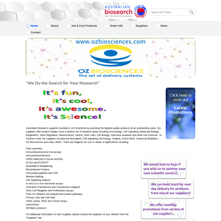 Life Science Research Products - Australian Biosearch