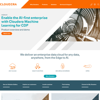 Cloudera - The enterprise data cloud company