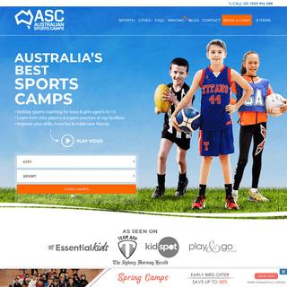 Australian Sports Camps - Sports Camps Australia - Camps Australia