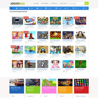JOGOS - Jogos Online Grátis no Jogos 360